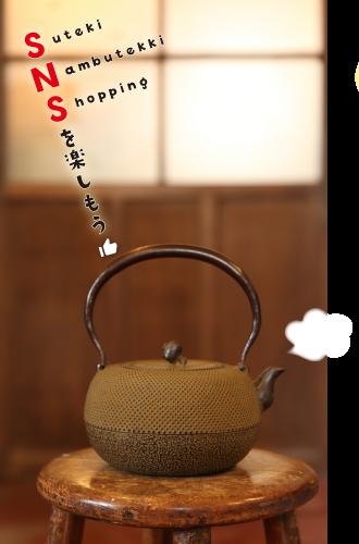 SNS(Suteki Nambutekki Shopping)を楽しもう👍